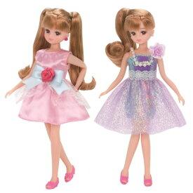 リカちゃん LW-18 シャイニーパーティー おもちゃ こども 子供 女の子 人形遊び 洋服 3歳