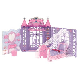 【送料無料】リカちゃん ゆめみるお姫さま プリンセスルーム おもちゃ こども 子供 女の子 人形遊び ハウス 3歳