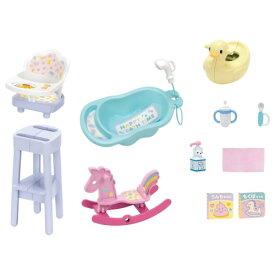 ラッピング対応可◆リカちゃん LF-12 みつごのあかちゃん おせわセット おもちゃ こども 子供 女の子 人形遊び 家具 3歳