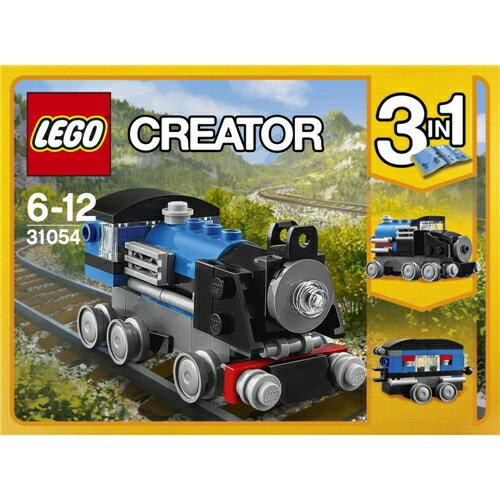 LEGO 31054 クリエイター 青い汽車 おもちゃ こども 子供 レゴ ブロック 6歳
