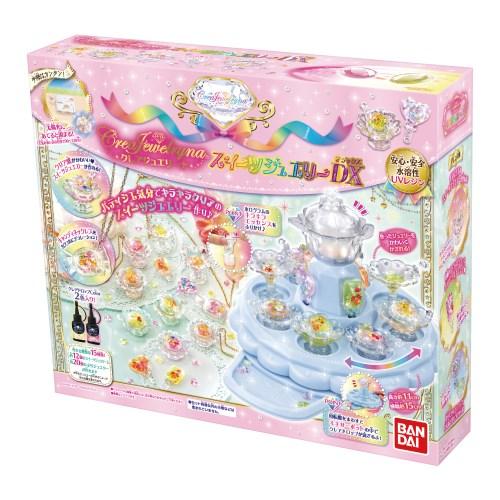 【送料無料】クレアジュエリーナ スイーツジュエリーDX おもちゃ こども 子供 女の子 ままごと ごっこ 作る 6歳