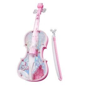 ディズニー ライト&オーケストラバイオリン ピンク おもちゃ こども 子供 知育 勉強 3歳 ミッキーマウス
