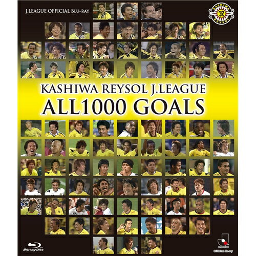KASHIWA REYSOL J.LEAGUE ALL1000 GOALS 【Blu-ray】