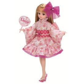 リカちゃん LW-13 おまつりピンク おもちゃ こども 子供 女の子 人形遊び 洋服 3歳