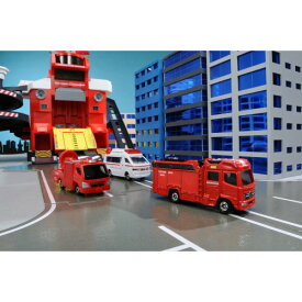 トミカ 119番!緊急車両&DVDセット おもちゃ こども 子供 男の子 ミニカー 車 くるま 3歳