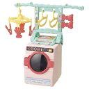 リアルな洗たくき&変身ランドリーラック ぽぽちゃんのランドリールーム おもちゃ こども 子供 女の子 人形遊び 小物 …