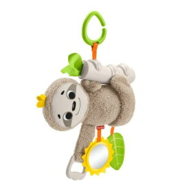 フィッシャープライス 感覚を育てよう!ふるふるナマケモノおもちゃ こども 子供 知育 勉強 ベビー 0歳