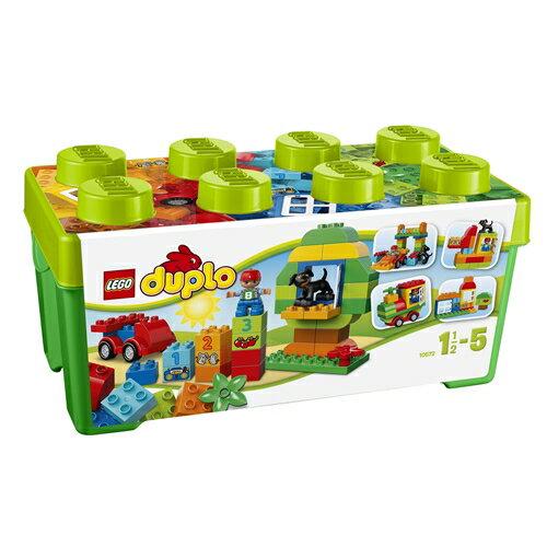 【送料無料】LEGO 10572 デュプロ・みどりのコンテナデラックス