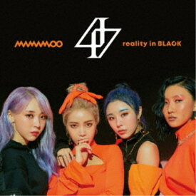 MAMAMOO/reality in BLACK -Japanese Edition-《限定盤A》 (初回限定) 【CD+DVD】