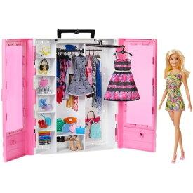 バービーとピンクなクローゼット ドール&ファッションセットおもちゃ こども 子供 女の子 人形遊び 3歳