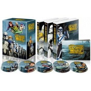 【送料無料】スター・ウォーズ:クローン・ウォーズ シーズン1-5 コンプリート・セット 【DVD】