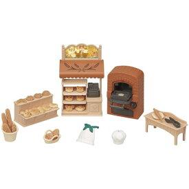 シルバニアファミリー ミ-88 こんがりオーブン!はじめてのパン屋さんセットおもちゃ こども 子供 女の子 人形遊び 小物 3歳