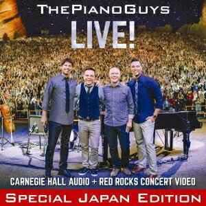 【送料無料】ピアノ・ガイズ/ライヴ!(初回限定) 【CD+DVD】