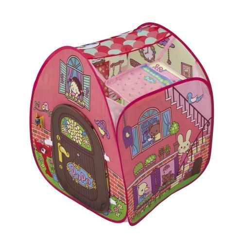 【送料無料】ピンポーン♪&おしゃべりつき2階だてぽぽちゃん家 おもちゃ こども 子供 女の子 人形遊び 小物