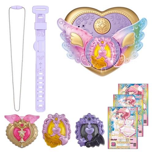 【送料無料】キラッとプリ☆チャン ジュエルパクト エレガントパープルDXセット おもちゃ こども 子供 女の子 6歳