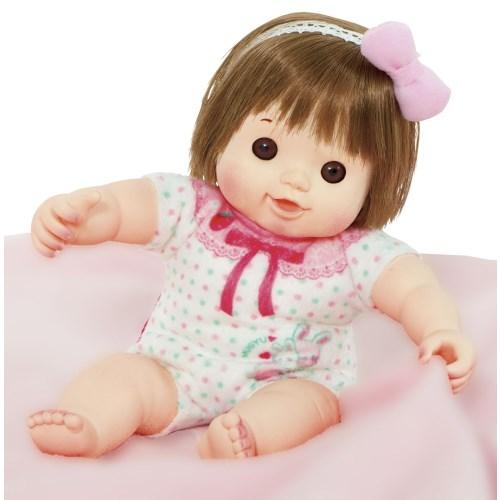 【送料無料】マシュマロぽぽちゃん 歌って!遊べる!スキンシップ絵本つき おもちゃ こども 子供 女の子 人形遊び 1歳5ヶ月