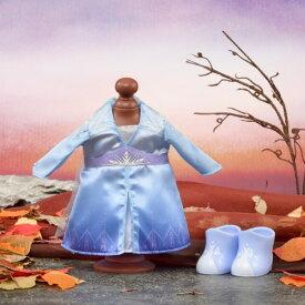 ずっとぎゅっと レミン&ソラン エルサ ドレスセット=アナと雪の女王2= おもちゃ こども 子供 女の子 人形遊び 洋服 3歳