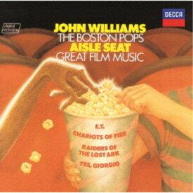 ジョン・ウィリアムズ ボストン・ポップス/E.T.のテーマ、炎のランナー、オズの魔法使〜ポップス・イン・スクリーン《生産限定盤》 (初回限定) 【CD】