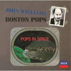 ジョン・ウィリアムズ ボストン・ポップス/スーパーマン、スター・ウォーズ、未知との遭遇〜ポップス・イン・スペイス《生産限定盤》 (初回限定) 【CD】