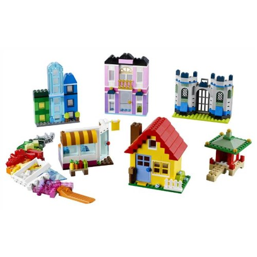 LEGO 10703 クラシック アイデアパーツ 建物セット おもちゃ こども 子供 レゴ ブロック クリスマス プレゼント 4歳