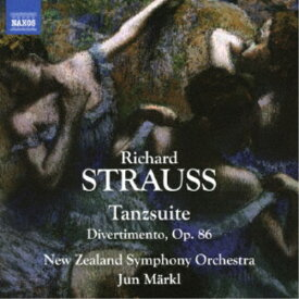 準・メルクル ニュージーランド交響楽団/リヒャルト・シュトラウス:舞踊組曲/ディヴェルティメント 【CD】