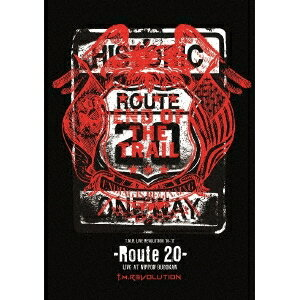 T.M.Revolution/T.M.R. LIVE REVOLUTION'16-'17 -Route 20- LIVE AT NIPPON BUDOKAN (初回限定) 【Blu-ray】