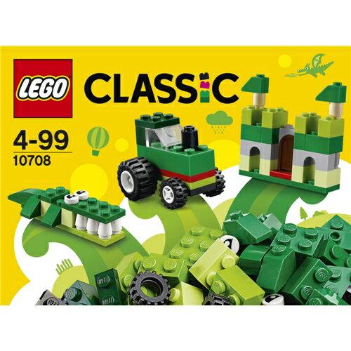 LEGO 10708 クラシック アイデアパーツ<緑> おもちゃ こども 子供 レゴ ブロック 4歳