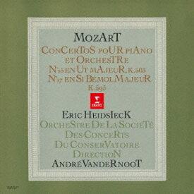 エリック・ハイドシェック/モーツァルト:ピアノ協奏曲 第25番 第27番 (期間限定) 【CD】