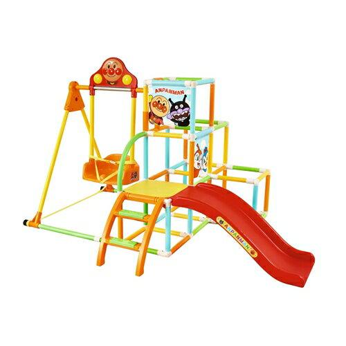 【送料無料】アンパンマン うちの子天才折りたたみ式ブランコパークDXロング おもちゃ こども 子供 知育 勉強 遊具 室内 2歳