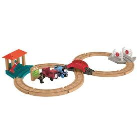きかんしゃトーマス 木製レールシリーズ トーマスとバーティーのレースセット GGG73おもちゃ こども 子供 男の子 電車