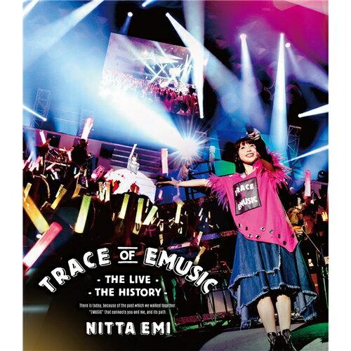 新田恵海 LIVE 「Trace of EMUSIC 〜THE LIVE・THE HISTORY〜」 《通常盤》 【Blu-ray】