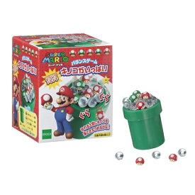 スーパーマリオ バランスゲーム キノコがいっぱい おもちゃ こども 子供 パーティ ゲーム 6歳 スーパーマリオブラザーズ
