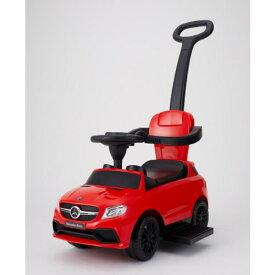 【送料無料】乗用メルセデスベンツ AMG GLE63 押手付 レッド おもちゃ こども 子供 知育 勉強 0歳10ヶ月