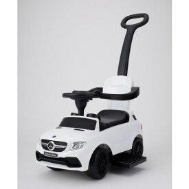 乗用メルセデスベンツ AMG GLE63 押手付 ホワイト クリスマスプレゼント おもちゃ こども 子供 知育 勉強 0歳10ヶ月