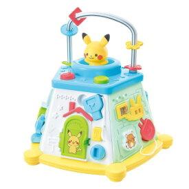 モンポケ ピカチュウのてあそびいっぱいボックスおもちゃ こども 子供 ゲーム 0歳8ヶ月 ポケモン