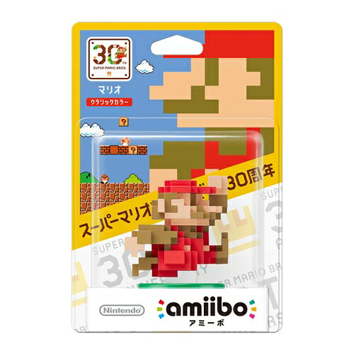 Wii U amiibo マリオ【クラシックカラー】(SUPER MARIO BROS. 30thシリーズ)