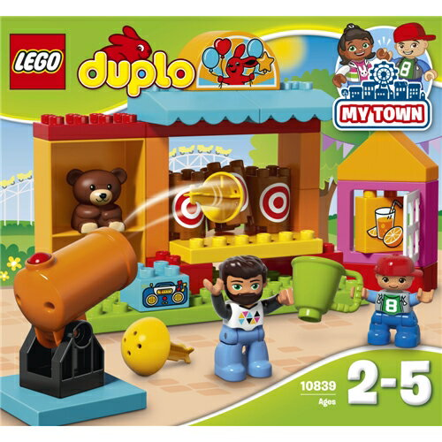 LEGO 10839 デュプロ デュプロのまち 'まとあて' おもちゃ こども 子供 レゴ ブロック 2歳