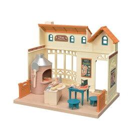 シルバニアファミリー ミ-87 森のピザ屋さん おもちゃ こども 子供 女の子 人形遊び 家具 3歳