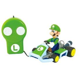 リモートコントロールカー マリオカート7ルイージおもちゃ こども 子供 ラジコン 3歳