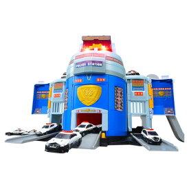 トミカ ぐるっと変形! DXポリスステーション 【日本おもちゃ大賞2021 ベーシック・トイ部門 優秀賞】おもちゃ こども 子供 男の子 ミニカー 車 くるま 3歳