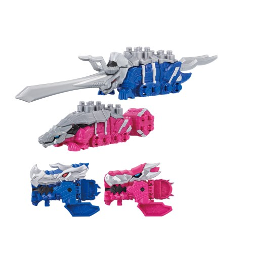 【送料無料】騎士竜戦隊リュウソウジャー 騎士竜シリーズ02&03 DXトリケーン&アンキローゼ おもちゃ こども 子供 男の子 3歳