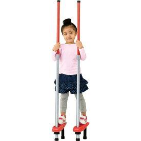 スポーツ竹馬2段式 赤 おもちゃ こども 子供 スポーツトイ 外遊び 4歳