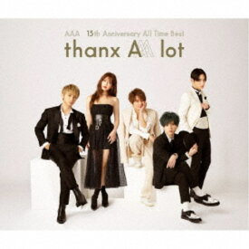 AAA/AAA 15th Anniversary All Time Best -thanx AAA lot-《通常盤》 【CD】