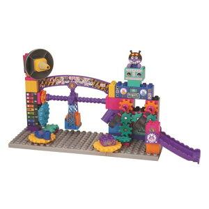 ブロックラボ ばいきんまんのくるくるメカ工場ブロックバケツ おもちゃ こども 子供 知育 勉強 3歳 アンパンマン