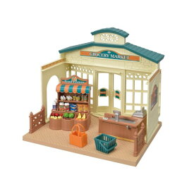 シルバニアファミリー ミ-86 森のマーケット おもちゃ こども 子供 女の子 人形遊び 家具 3歳