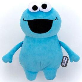 【送料無料】セサミストリート Mocchi-Mocchi- ぬいぐるみ M クッキーモンスター おもちゃ こども 子供 女の子 人形遊び 6歳