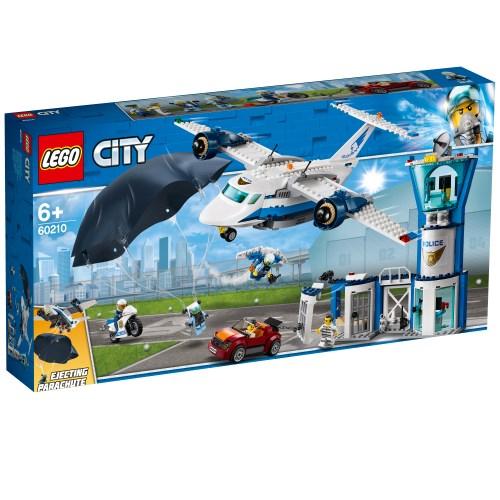 【送料無料】レゴ シティ 空のポリス指令基地 60210 おもちゃ こども 子供 レゴ ブロック 6歳 LEGO