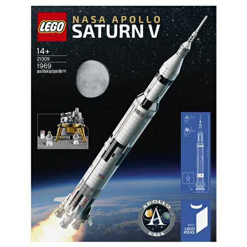 【送料無料】LEGO 21309 アイデア LEGO NASA アポロ計画 サターンV