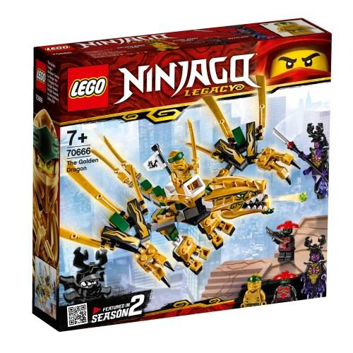 レゴ ニンジャゴー ゴールデン・ドラゴン 70666 おもちゃ こども 子供 レゴ ブロック 7歳 LEGO