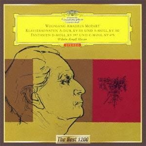 ヴィルヘルム・ケンプ/モーツァルト:ピアノ・ソナタ 第8番・第11番≪トルコ行進曲付き≫ 幻想曲K397・K475 【CD】